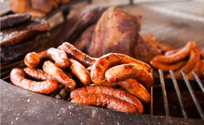 Korvar på Smedens BBQ