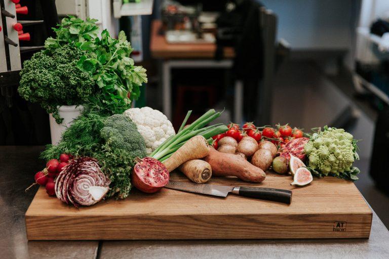 Fräscha grönsaker och rotfrukter