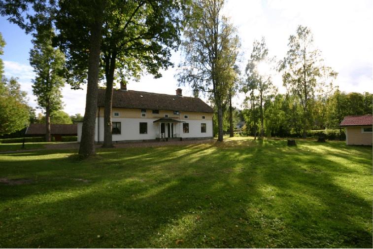 Sjövillan som ligger intill Schenströmska Herrgården