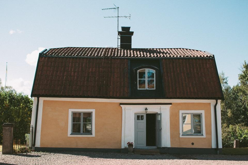Mysig byggnad i anslutning till Schenströmska herrgården
